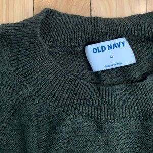 Old Navy Textured Stitch Boat-Neck Tunic Sweater